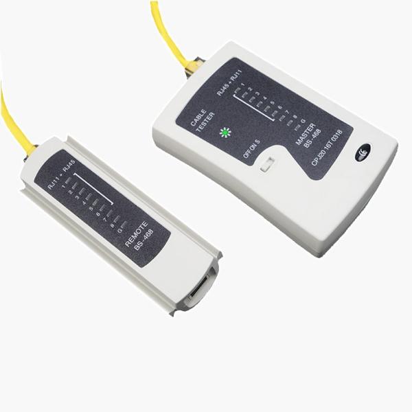 랜케이블 테스터기, 분리형, BS-468 [블랙&화이트]