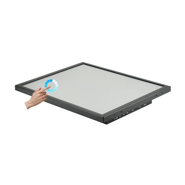 19형 산업용 일체형 터치패널PC HDL-T190PC-J8 압력식터치 [8세대 셀러론 + SSD 120GB]