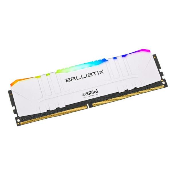 마이크론 Crucial Ballistix DDR4 8GB PC4-28800 CL16 RGB White