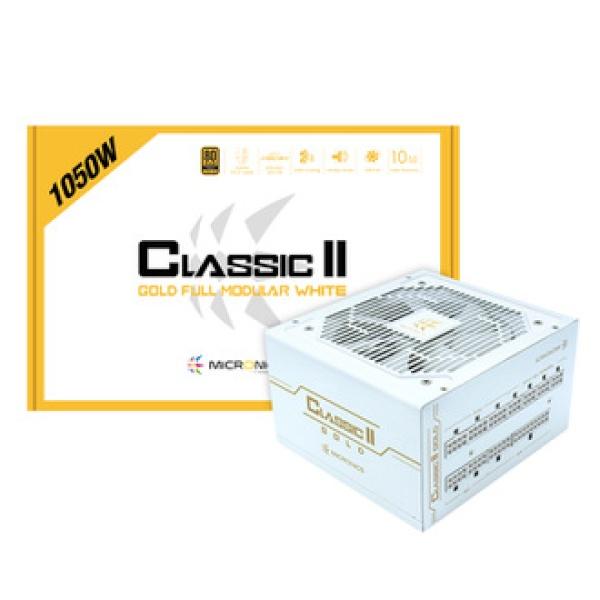 Classic II 1050W 80PLUS GOLD 230V EU 풀모듈러 화이트 (ATX/1050W)