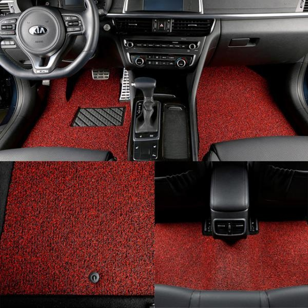 차량용 코일매트 2열 풀세트 리무진/트렁크매트