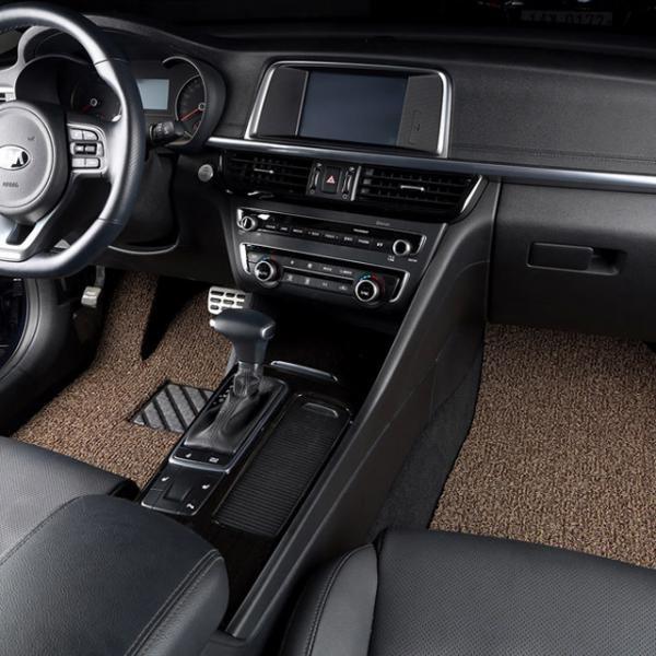 차량용 코일매트 2열세트 5인승/SUV/운전+보조+뒷자석