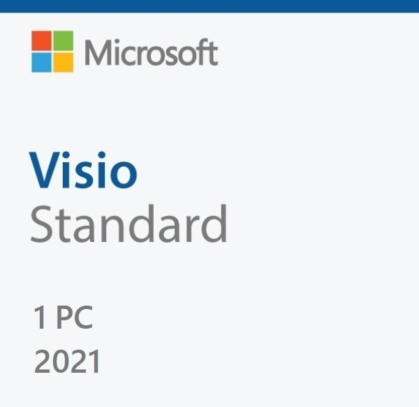 Visio 2021 Standard ESD [기업용/다운로드 방식/KEY 값 발급제품(E-mail 발송)]