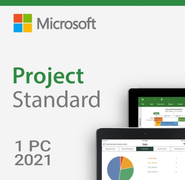 Project 2021 Standard ESD [기업용/멀티랭귀지/다운로드 방식/KEY 값 발급제품(E-mail 발송)]