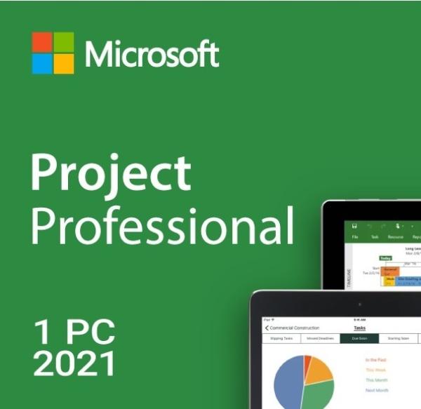 Project 2021 Professional ESD [기업용/멀티랭귀지/다운로드 방식/KEY 값 발급제품(E-mail 발송)]