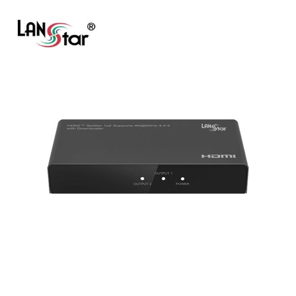 랜스타 LS-HD202DS [모니터 분배기/1:2/HDMI/4K/오디오 지원]