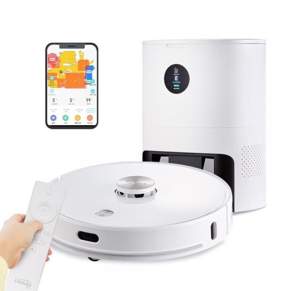 무선 물걸레 로봇청소기 LH90 클린스테이션 LG배터리 앱연동 리모컨