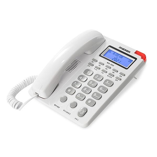 유선전화기 MS-382 화이트