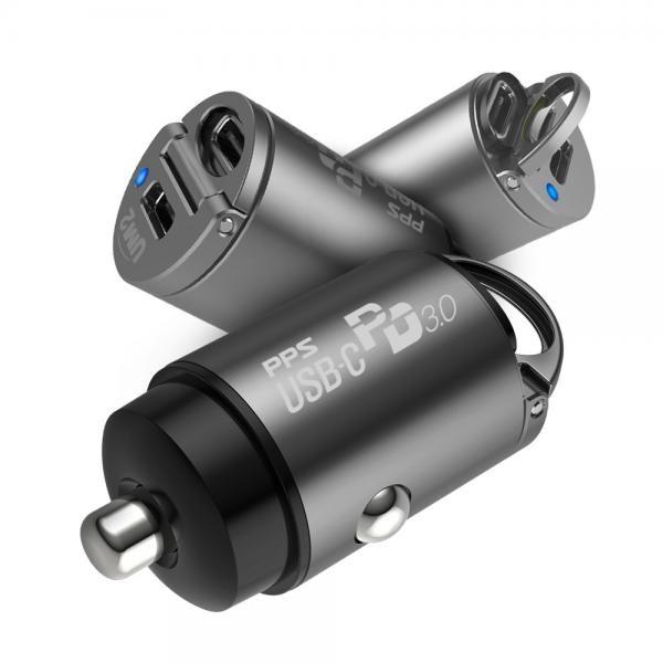 차량용 충전기 UMCH-PD30W [분리형/2포트/MAX:30W/PPS/PD3.0/C타입/케이블미포함]
