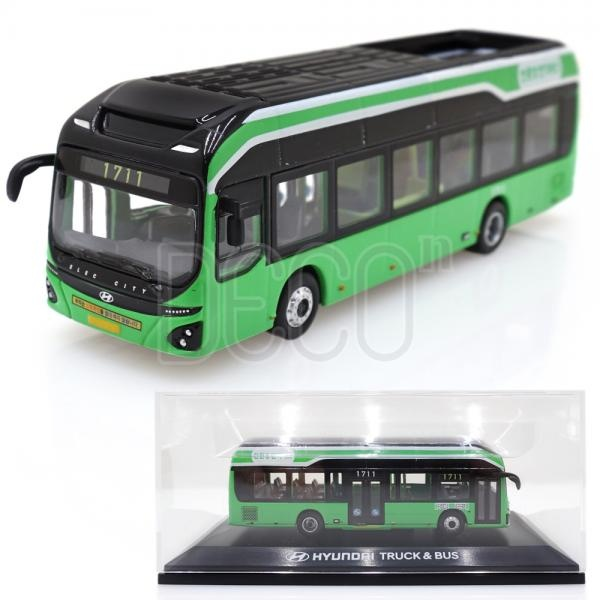 현대 일렉시티 서울 시티 버스 다이캐스트 1:87 스케일