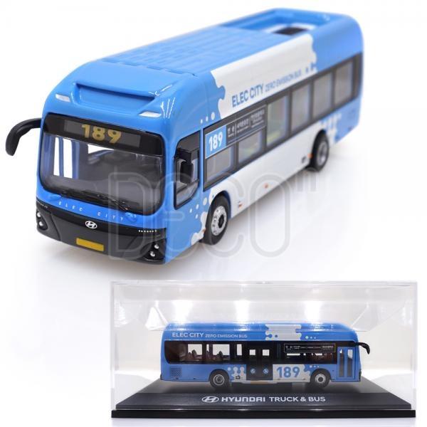 현대 일렉시티 부산 시티 버스 다이캐스트 1:87 스케일
