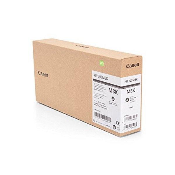 [Canon] PFI-703MBK (정품잉크/메트검정/700㎖/플로터/대용량)