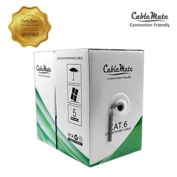 [CableMate] 케이블메이트 CAT.6 UTP 랜케이블 305M [1롤/박스]