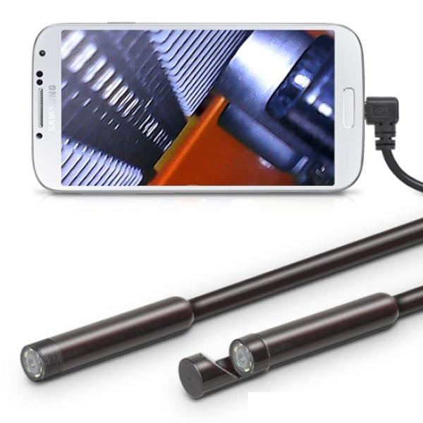 스마트폰 USB 내시경카메라 (OTG젠더 포함)  (8mm, 1M)
