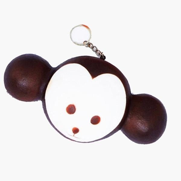 [티트론] 스퀴시 열쇠고리 [제품선택] [4. 하트원숭이]