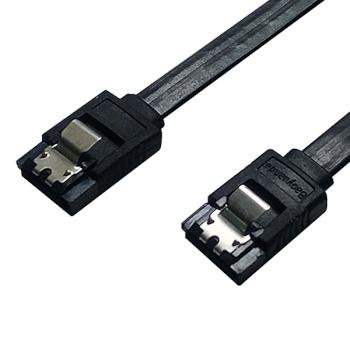 [대원TMT] 대원티엠티 SATA3 Lock 케이블 Flat [ㅡ자형/0.5M] [DW-S3MMI-0.5M]
