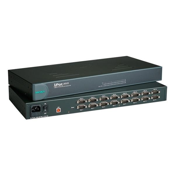 [MOXA] 목사 USB to RS232 컨버터, 16포트 [UPort1610-16] [강원전자]
