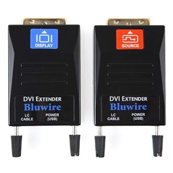 [나로] NARO DVI-D 듀얼링크 리피터 송수신기 세트, EXT-ODL1 [최대300M/광(LC타입)]