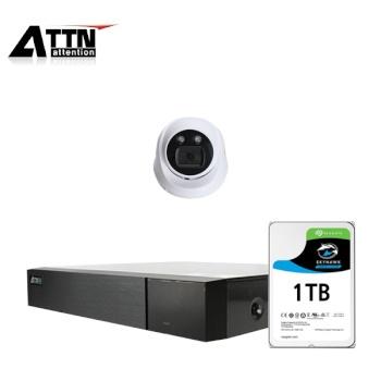 [오피네트웍스] ATTN 초고화질 500만화소, 내부형 카메라 1SET 풀패키지 [시게이트 1TB 포함] [TD-FHDF *1 + ATTN-H *1]