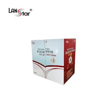 [LANStar] 랜스타 CAT.5E FTP 랜케이블 300M [1롤/박스/연선] 그레이 [LS-FTP-300MSTG]