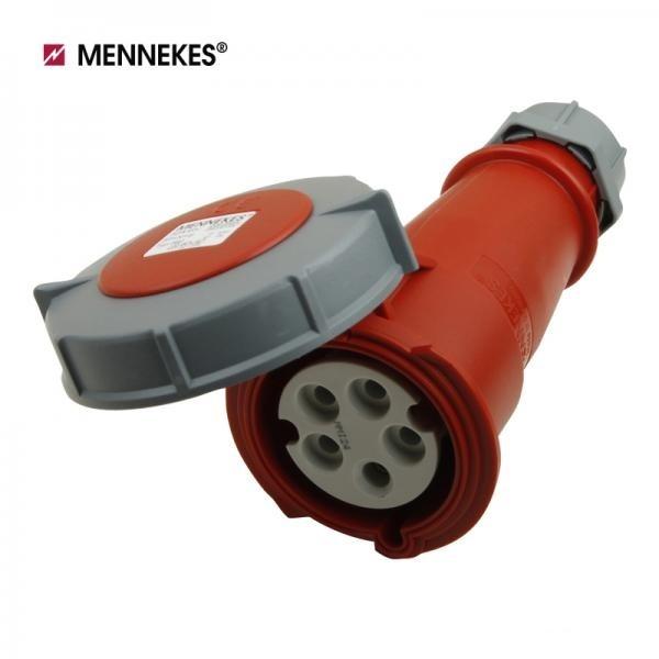 [메네키스] IP67 400V 32A 3P N E 산업용 AM-TOP 컨넥터 모빌소켓 [TYP562]