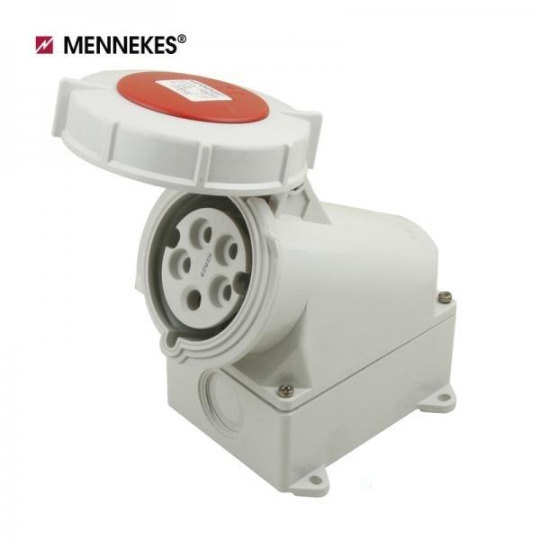 [메네키스] IP67 400V 32A 3P N E 노출형 소켓 [TYP1210]