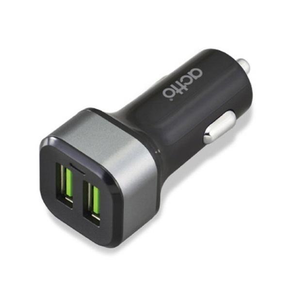 [엑토] USB 2포트 차량용 고속 충전기 [CCU-16]