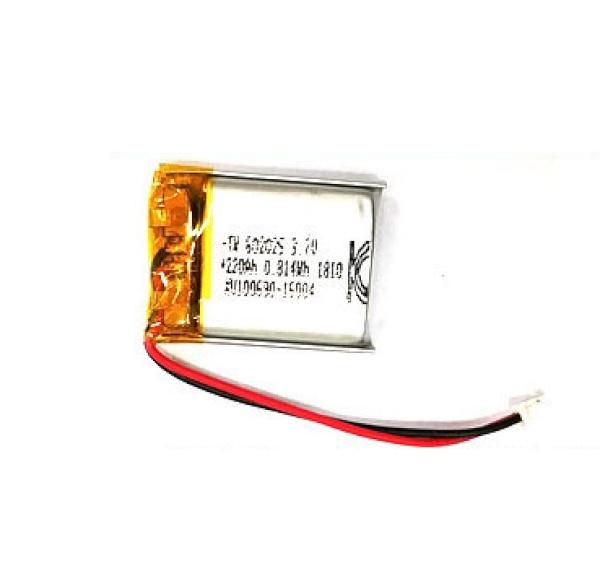 리튬폴리머 배터리 충전지 (KC인증제품/재고보유) [220mah-602025]