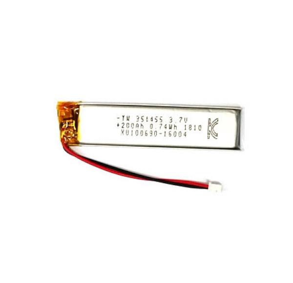 리튬폴리머 배터리 충전지 (KC인증제품/재고보유) [200mah-351455]