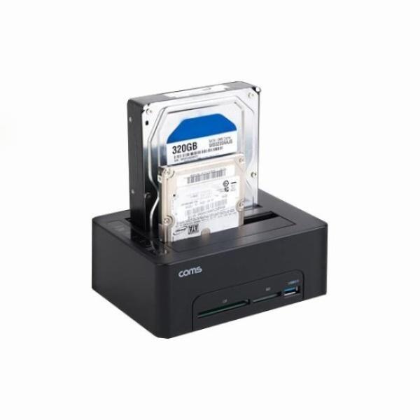 [Coms] 듀얼 하드 도킹스테이션, KS159 [USB 3.0]