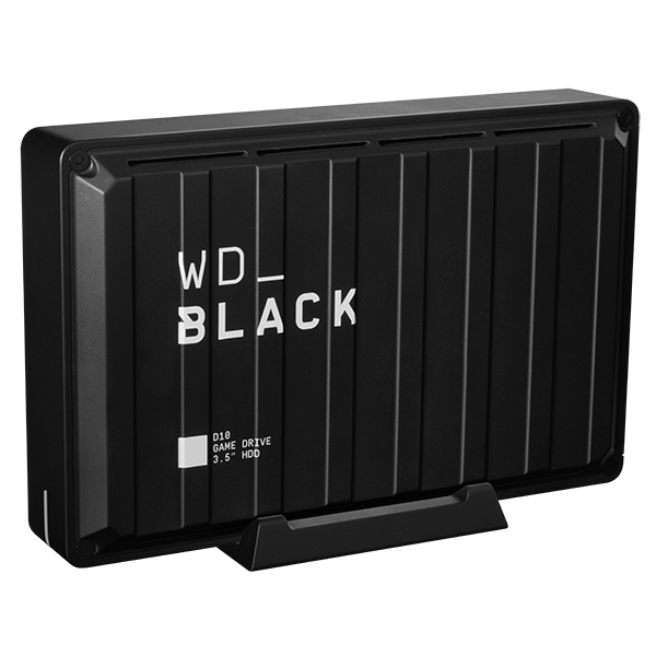 [Western Digital] 외장HDD, WD Black D10 Game Drive [USB3.2 GEN1 / PS4,XBOX호환] [블랙/8TB]