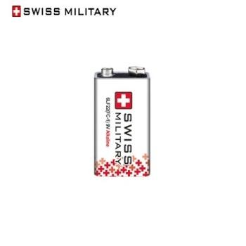 [스위스밀리터리] 알카라인 건전지 9V 1입(쉬링크)