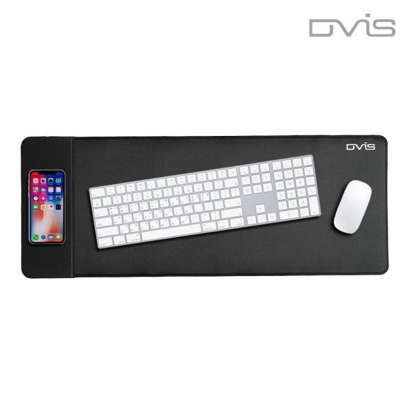 [DVIS] 장패드, WP-02 무선충전패드 [블랙/USB]