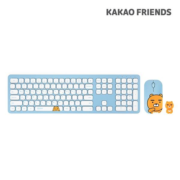 [퓨전에프앤씨] 무선 데스크탑 세트, 카카오프렌즈 KFKM-001