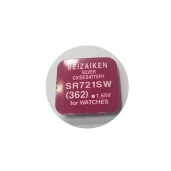 [세이자켄] 시계용 건전지 SR721SW 1알