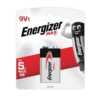 [에너자이저] 에너자이저 맥스 9V 1입